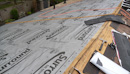 Underlayment for low pitch roofs and felt